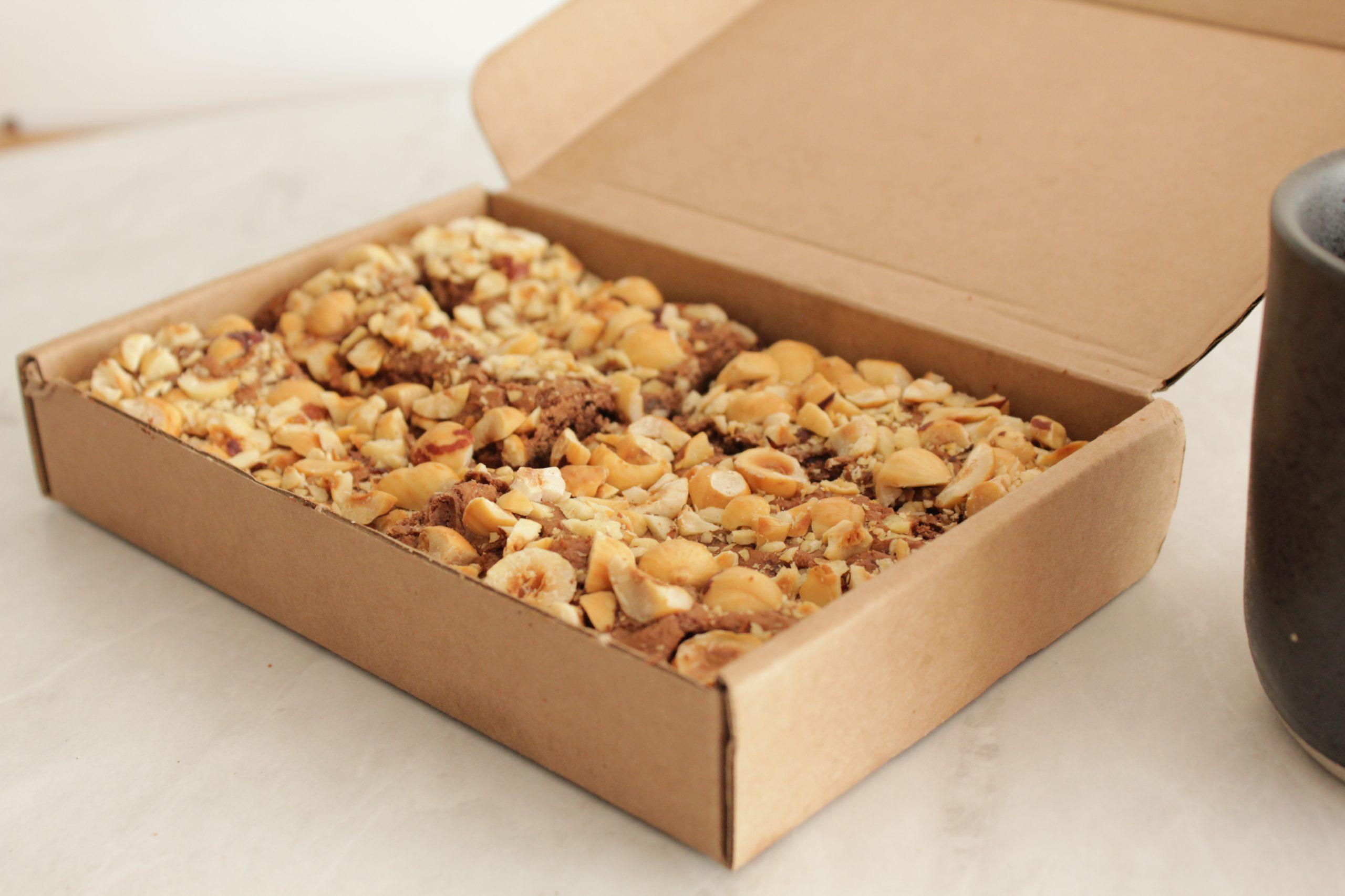 Browniehuys - Hazelnoot box