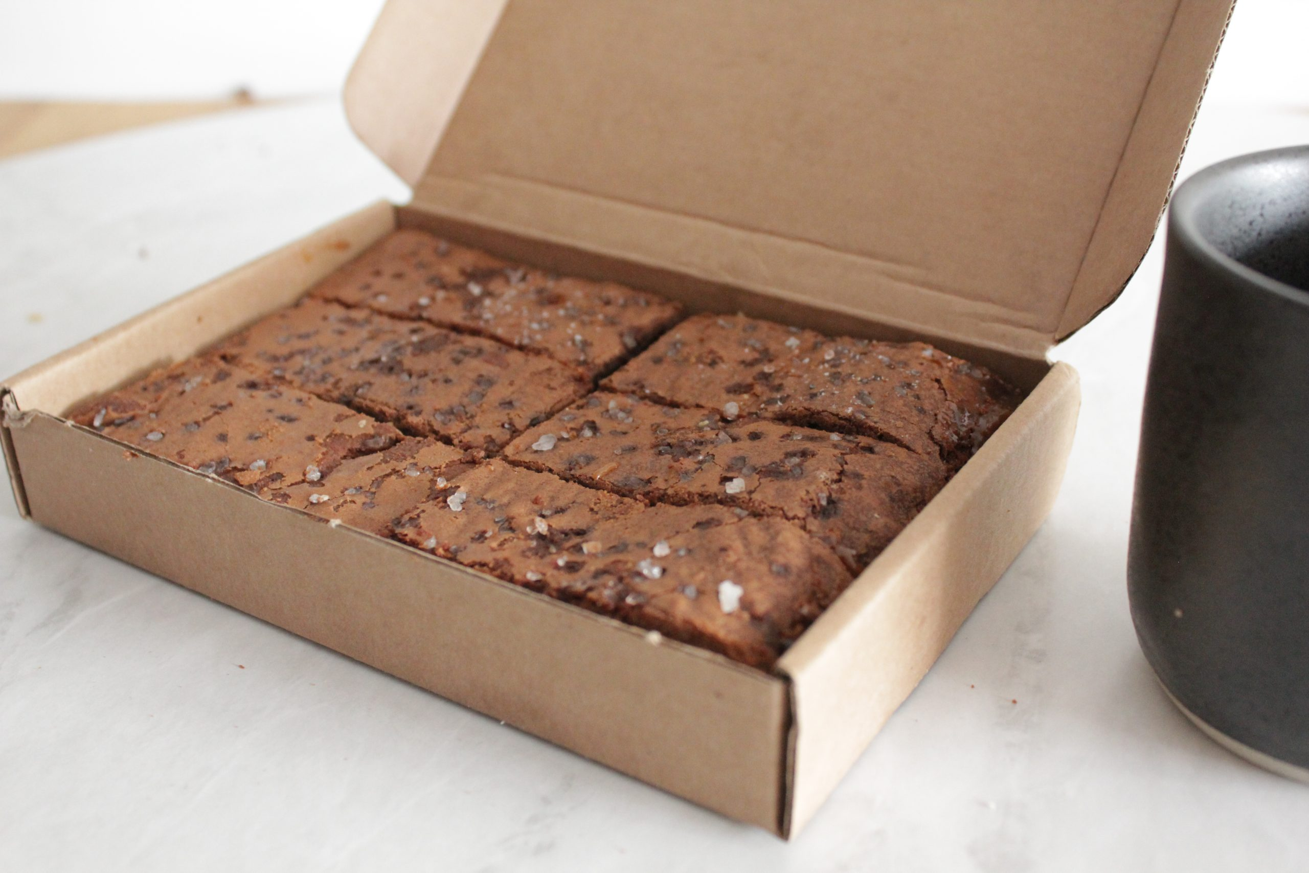 Browniehuys - Salted Caramel box