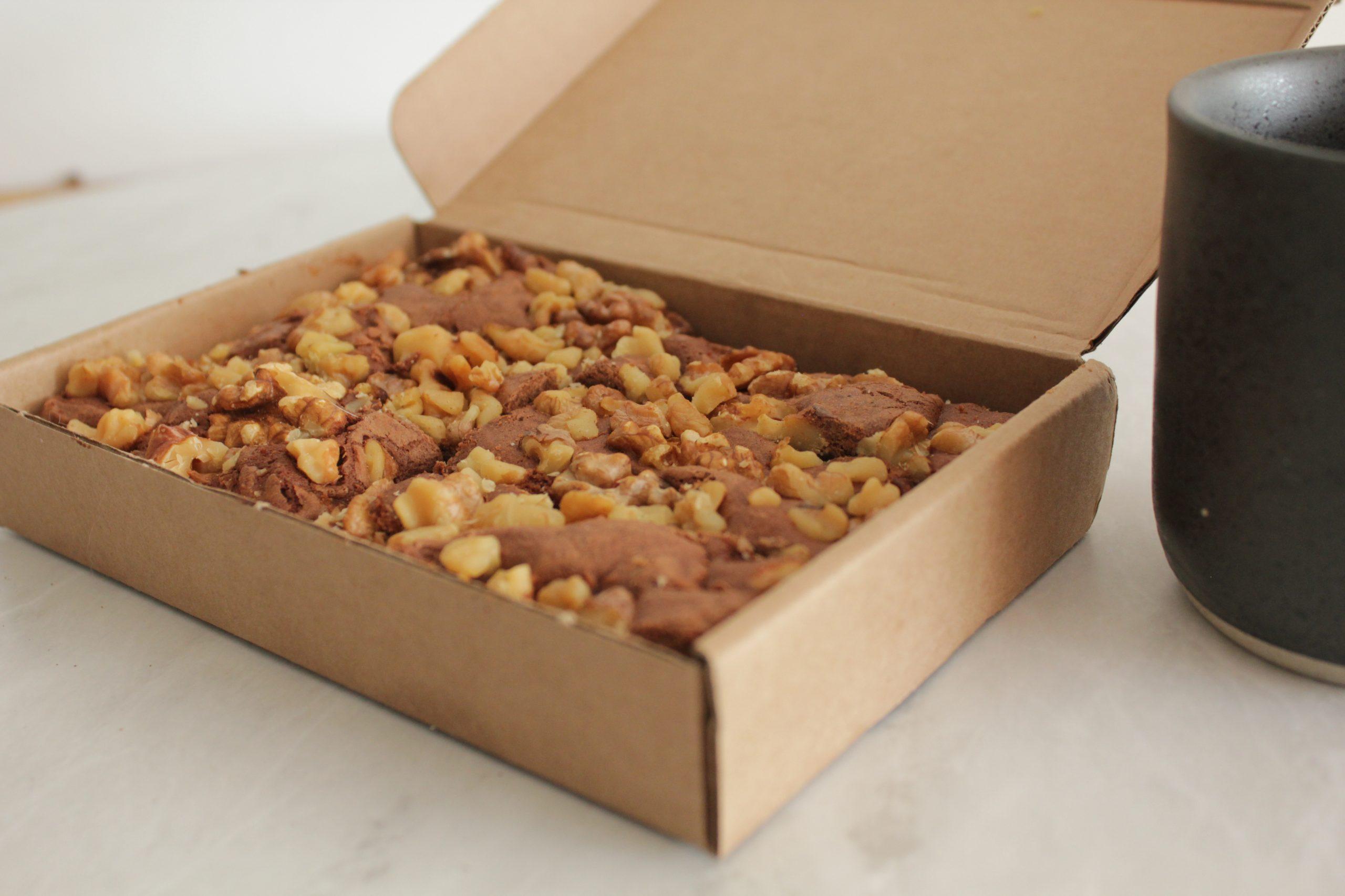 Browniehuys - Walnoot box