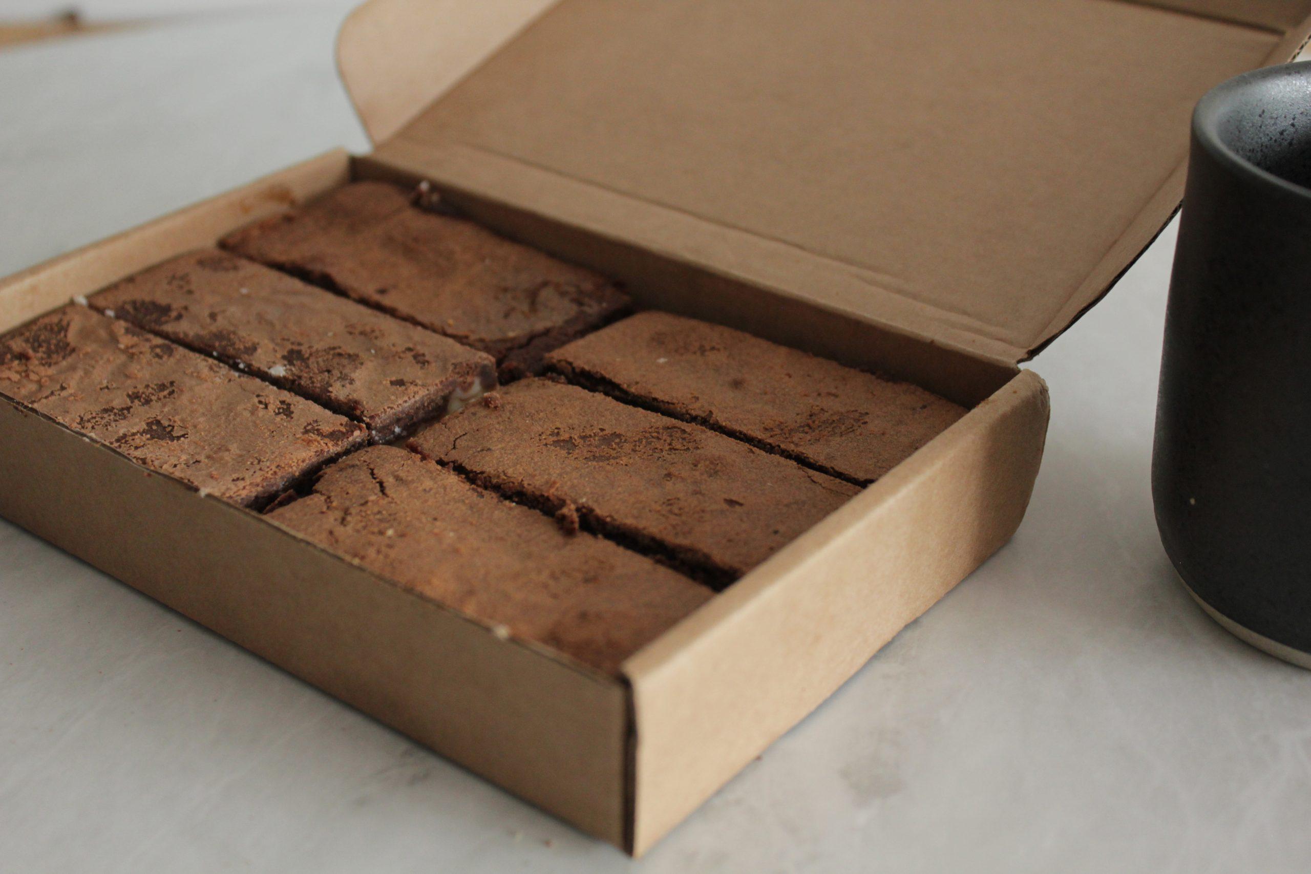 Browniehuys - White Chocolate box